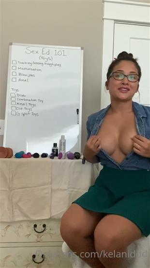Kelaniddd Boobs Flash Video Onlyfans