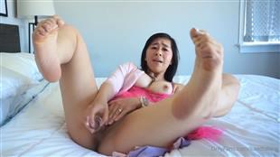 kaedialang Crawling Toes Dildo Cum Onlyfans
