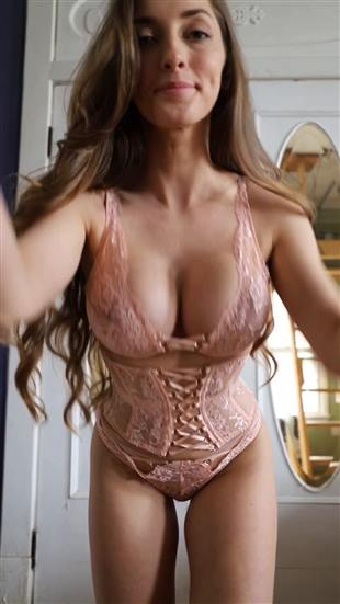 AbbyOpel Sexy Lingerie Onlyfans Video