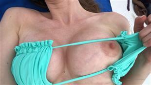 AbbyOpel Beach Boobs Show Video Onlyfans