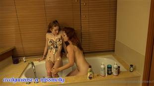 NakedBarbieDoll Desert in Bathtub GirlGirl Onlyfans