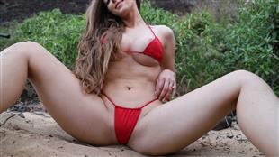AbbyOpel Beach Tease Cam Video Onlyfans