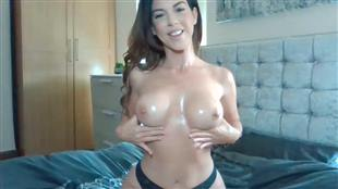 Its_Lacey Oil Boobs Video mfc