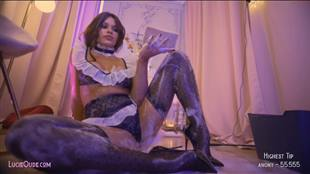 lucieoude_ Maid Sexy Outfit Chaturbate